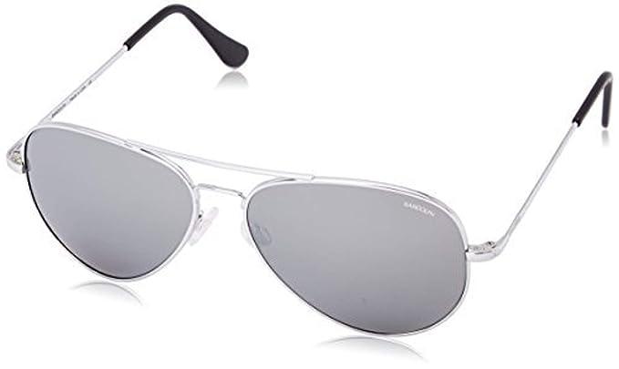 d775e0abd3 Randolph Concorde Spectrum Sunglasses Bright Chrome Skull Gray AR 57mm