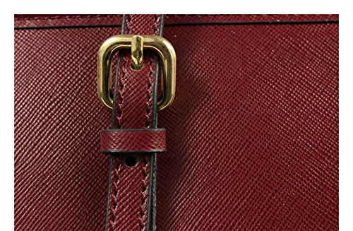 Schöne praktische Leder Lelia Piccola Rossa Scura über die Schulter