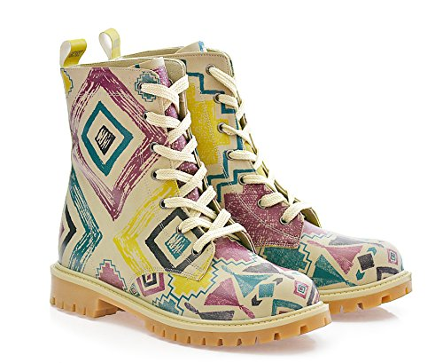 Combat ''Colorful Shapes TIM1032 Shoes Boot'' Women's GOBY IxvE08wqv