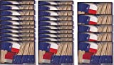 25 Box Wholesale Lot of Texas Toothpick Flags, 2500 Small Mini Texan TX Flag Cupcake Toothpicks or Cocktail Picks