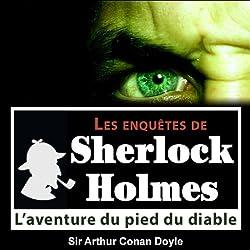 L'aventure du pied du diable (Les enquêtes de Sherlock Holmes 43)