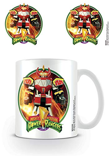 Power Rangers Classic Megazord Ceramic Mug, Multi-Colour, 7.9 x 11 x 9.3 cm]()