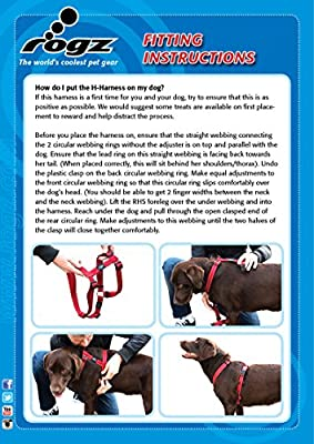Rogz Utilidad Grande 3/4-inch Fanbelt Reflectante Ajustable Perro ...
