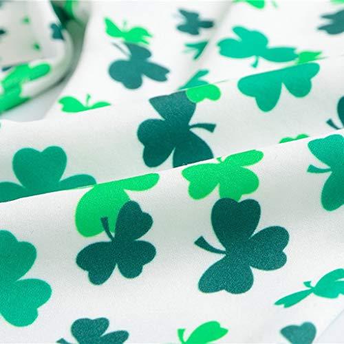 55fc9e6da8cf9 Yalasga Baby Kids Green Pants St.Patrick's Day Toddler Girls Boys Shamrock  Irish National Day