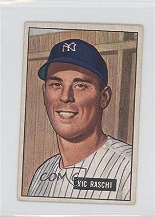 Vic Raschi Baseball Card 1951 Bowman