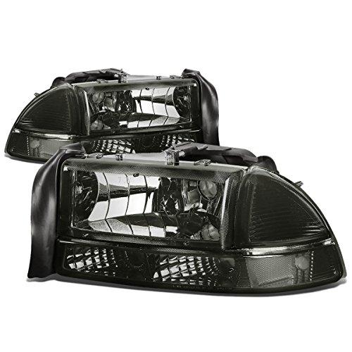 dodge-dakota-durango-4pcs-replacement-headlight-bumper-lights-kit-smoke-lens