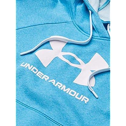 Under Armour Women's Rival Fleece Logo Hoodie Warm-up Top 4