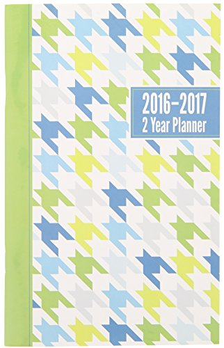 2016-2017 2 Year Monthly Planner - Green
