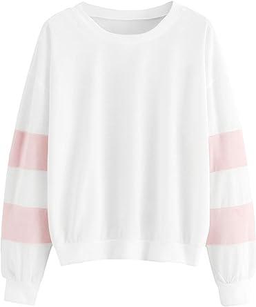 Long Sleeve T-Shirt Women Hoodie Sweatshirt Pullover Top