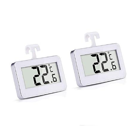 Minitermómetro de nevera Faneli, termómetro digital inalámbrico ...