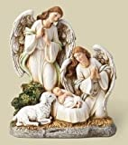 """6.5""""Angels/Lamb With Jesus Figure by Roman"""