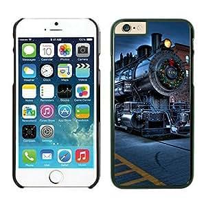 Iphone 6 cases,Christmas City Locomotive Railway Iphone 6 (4.7)case Black Cover