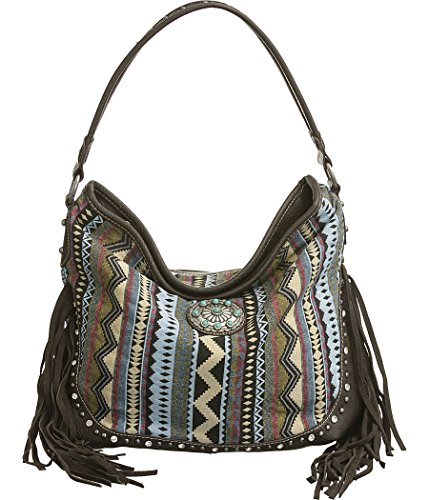 Montana West Fringed Tapestry Handbags product image