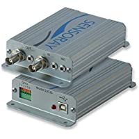Sensoray Model 2253S : A/V MPEG-4, MJPEG, H.264 Encoder/Decoder with Overlay in Enclosure