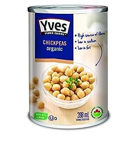 Yves Organic Chickpeas (Garbanzo Beans)