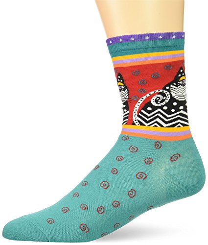 Laurel Burch Lively Nature Crew Casual Sock, 9 to11, for sale  Delivered anywhere in USA