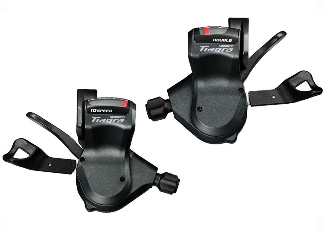 SHIMANO (シマノ) TIAGRA SL-4700 シフトレバー 左右セット(2x10S) ブラック ISL4700PA