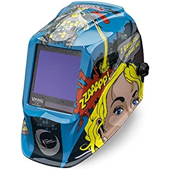 Lincoln Electric VIKING 3350 Jessi vs the Robot Welding Helmet with 4C Lens Technology - K3372-3