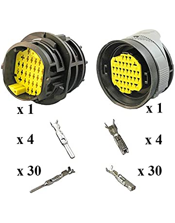 Color : DB25 PS 2R 2sets Z-Wenquan-io DB25 DB26 25P 26P Port s/érie parall/èle Femelle M/âle Fil /À Souder Connecteur Socket Plug Socket Adaptateur VGA en Plastique Coquille en M/étal Couvercle