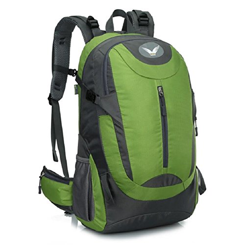 ZC&J Mochila de escalada al aire libre, los hombres y las mujeres en general de senderismo resistente al desgaste bolsa de hombro, 41 litros de gran capacidad, mochila de alta calidad,A,41L C