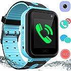 Kids Waterproof Smart Watch Phone – GPS Tracker Smartwatch for Boys Girls Digital