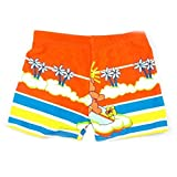 Boy's Swimwear Sport Shorts Beach Shorts Swim Trunks Coconut Tree,Orange