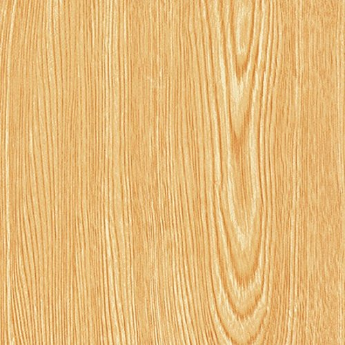 Magic Cover Self-Adhesive Vinyl Shelf and Drawer Liner, 18-inches by 20-Feet, Golden Oak