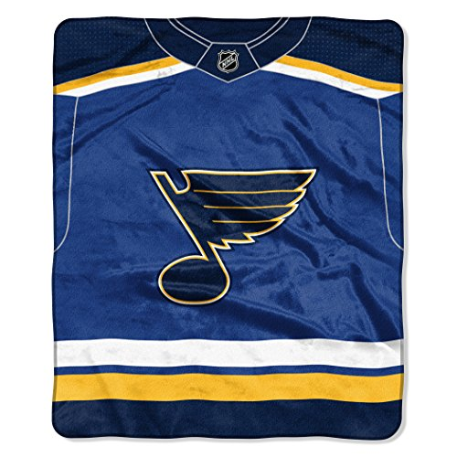 The Northwest Company Officially Licensed NHL Pro Jersey Plush Raschel Throw Blanket, 50
