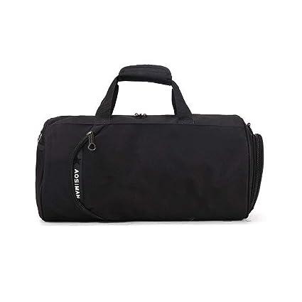 Amazon.com: Ybriefbag Unisex Cylindrical Hand Bag Men and ...