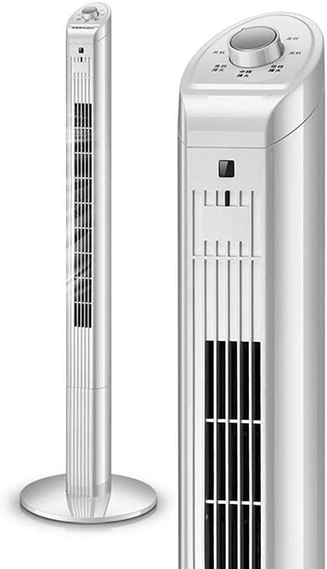 GXQL Ventiladores Ventilador portátil de Torre de refrigeración Silencioso Ventilador mecánico Ventilador silencioso oscilante Ideal para el hogar y la Oficina, Blanco 40W: Amazon.es: Deportes y aire libre