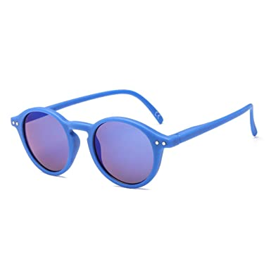 Amazon.com: SUERTREE Gafas de sol redondas para niños, para ...