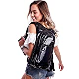 Holographic Rave Hydration Pack by Vibedration | 2L Water...