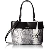 Calvin Klein Patty Exotic Faux Leather East/West Tote