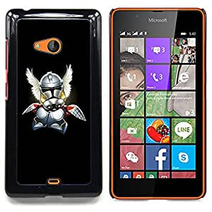 - Viking Superhero/ Duro Snap en el tel????fono celular de la cubierta - Cao - For Microsoft Nokia Lumia 540 N540