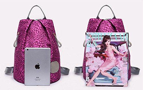 Bag Backpack piece Blue Student Ms piece Three Printed Three Printed Ms Student Shoulders Shoulders Backpack 6Iq5Ow5