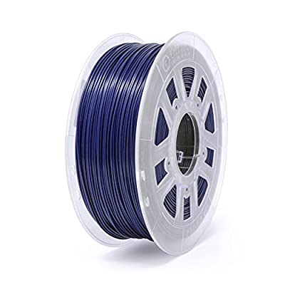 Gizmo Dorks 3mm (2.85mm) PLA Filament 1kg/2.2lb for 3D Printers, Dark Blue