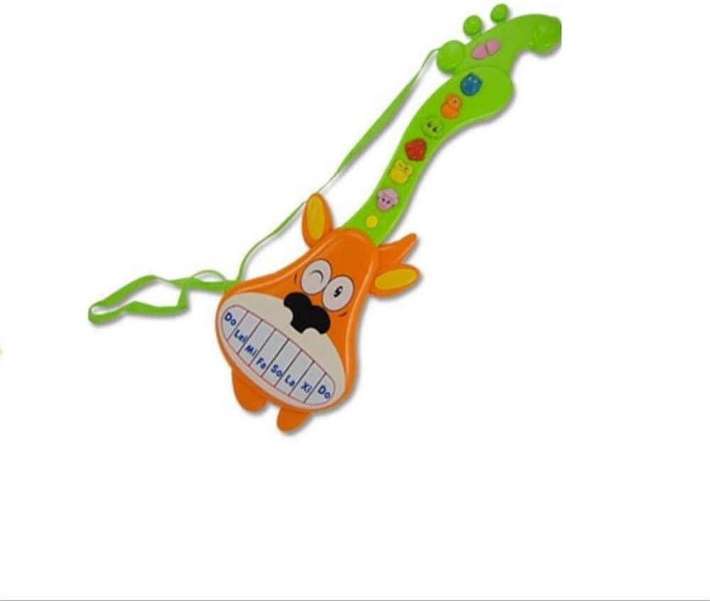 UabpT Instrumento acústico Guitarra eléctrica de Dibujos Animados ...