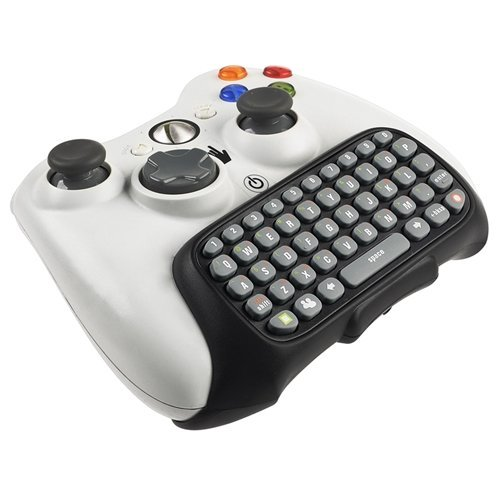Controller Text Messenger Keyboard Chatpad Keypad For Xbox 360 Black