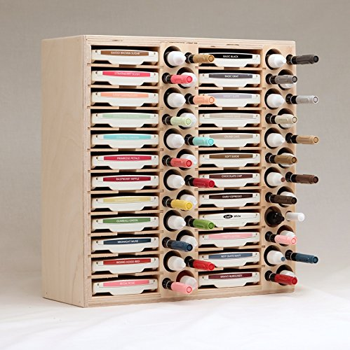 24 Ink Pad, Marker and Refill Bottle Holder by Stamp-n-Storage (Image #4)