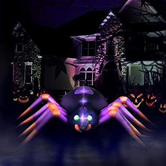 Amazon.com: Holidayana - Araña de Halloween hinchable y ...