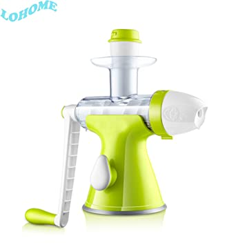 LOHOME (TM) el Original casera DIY Healthy Juicer – Extractor de zumo de frutas