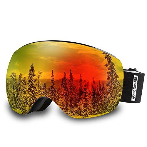AKASO Mag Pro Goggles Snowboard Interchangeable