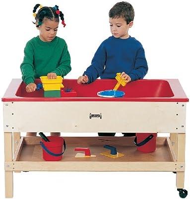Jonti-Craft 2856jc sensorial mesa con estante: Amazon.es: Amazon.es