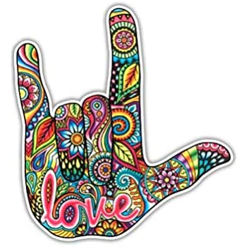 Amazon Com Hang Loose Sticker Shaka Hand Sign Hawaii