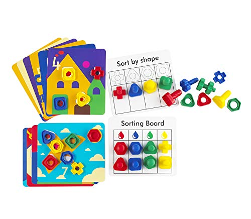 edx Education Nuts & Bolts Activity Set - Fine Motor Skills for Toddlers