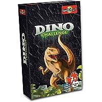 Asmodee- Juego de Cartas Dino Challenge, Color Negro (DIN03)