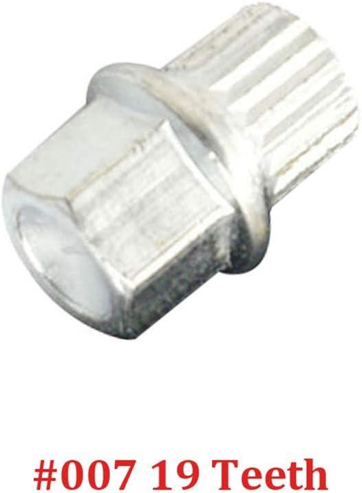 Anti-Diebstahl-Radschraube Sicherungsmutter Key Adapter # 0 bis # 9 10 teeth