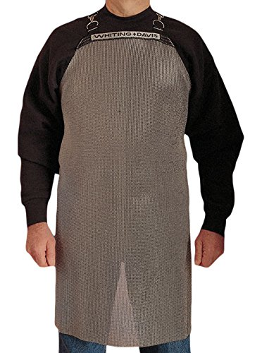 Honeywell A2034 Bib Apron, Stainless Steel Material, Gray, Size: Universal