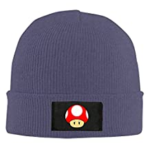 UglyBee Unisex Super Mushroom Knitted Wool Beanie Skull Caps