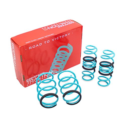 Godspeed(LS-TS-HA-0021) Traction-S Performance Lowering Springs, Set of 4, Honda Civic(FC) 2016+UP